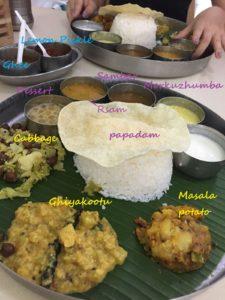 SRI RAYA LAKSHIMI NARASIMHANの南インド料理ライスセットの詳細解説