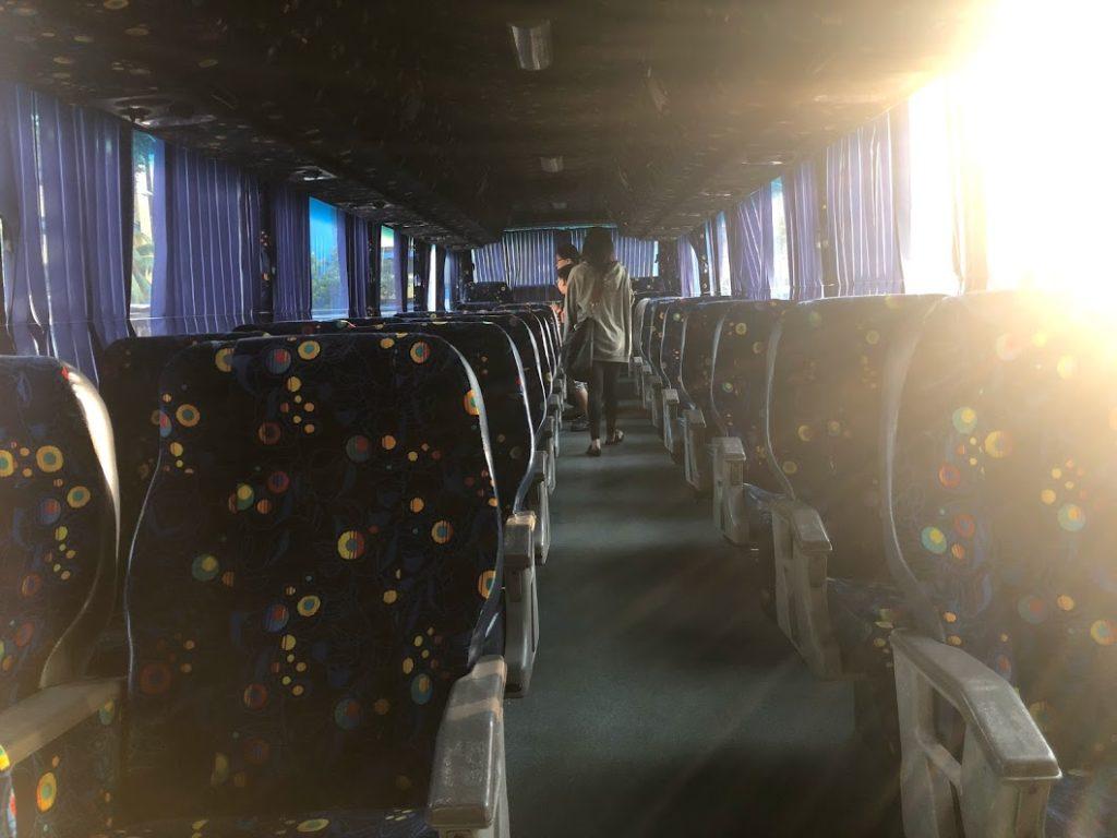 707Inc のバス車内の写真