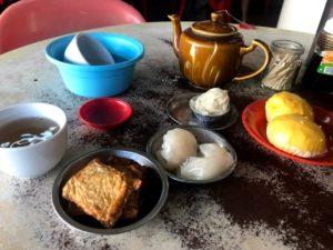 茶茂飲茶でオーダーした食べ物