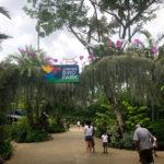 シンガポールのジューロンバードパークの入口