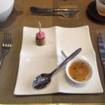 カペラホテルのアフタヌーンティー前菜